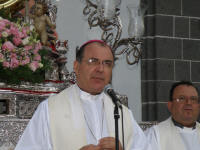 Don Francisco Cases, Obispo de la Diocesis de Canarias